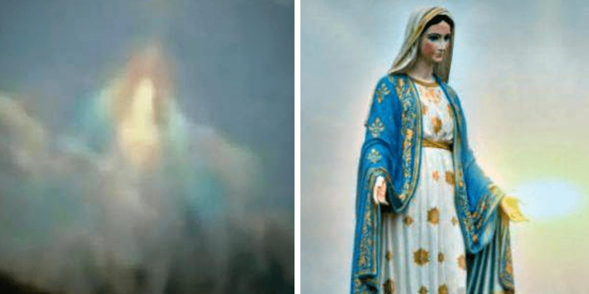 Virgen María en el cielo
