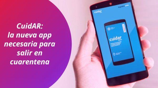 Aplicación CuidAR app cuarentena