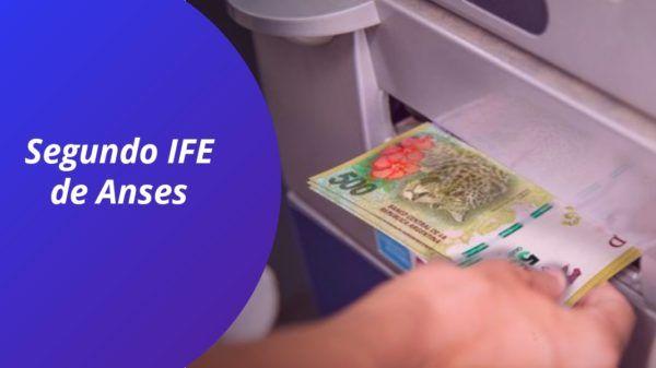 Segundo bono IFE de anses mayo