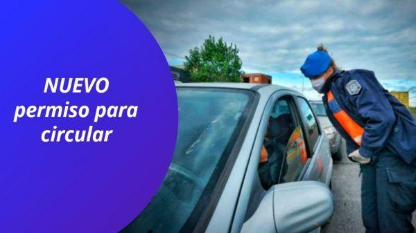 Nuevo permiso para circular cuarentena