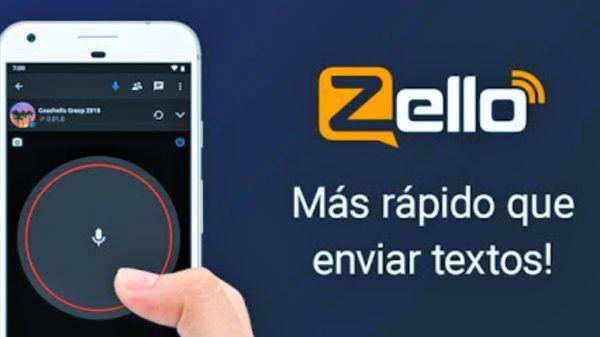 Zello aplicación