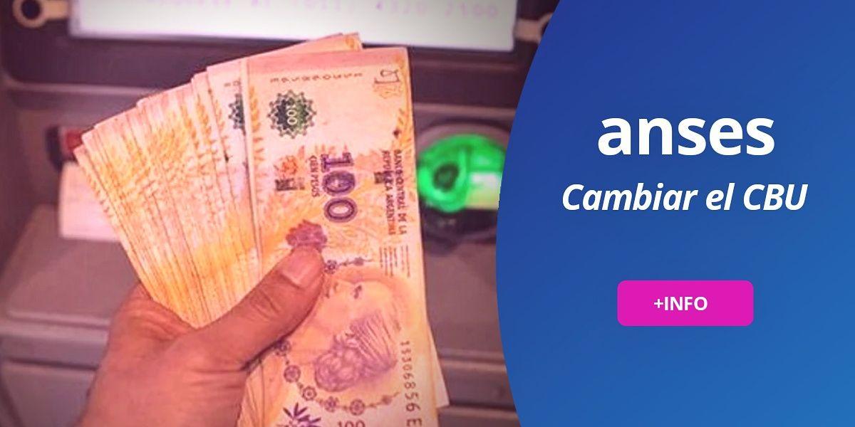 Cambiar CBU cuenta bancaria cobrar IFE