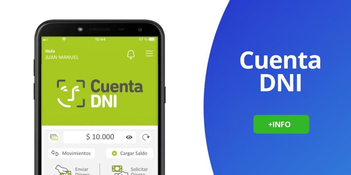 Cuenta DNI aplicación funciones