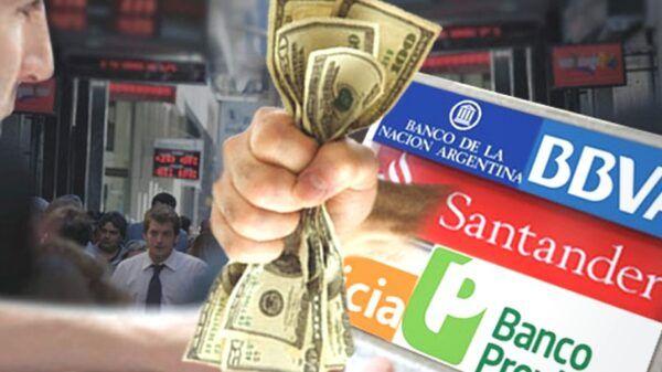Retirar dólares banco cuenta cajero