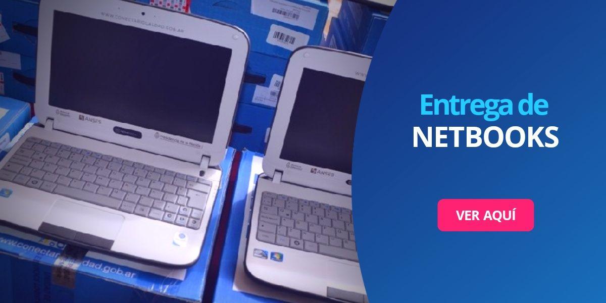 Entrega de Netbooks tablets computadoras gratis