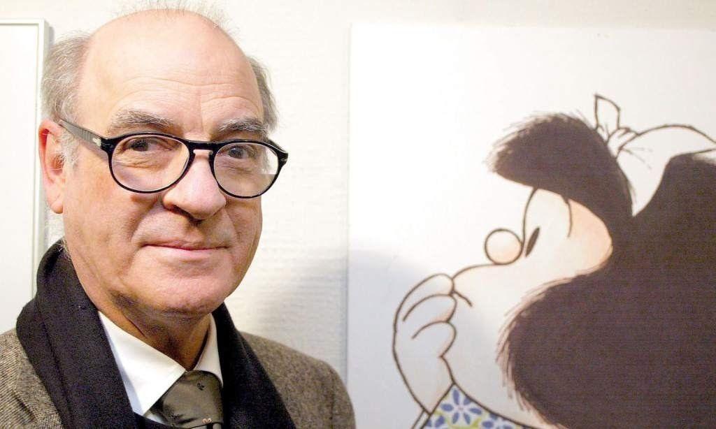"""ᐈ Triste noticia: Murió """"Quino"""", el creador de Mafalda"""