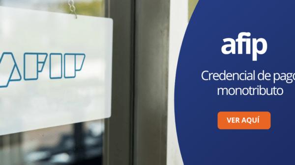 Credencial de pago monotributo