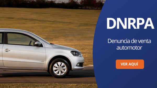 Denuncia de venta automotor