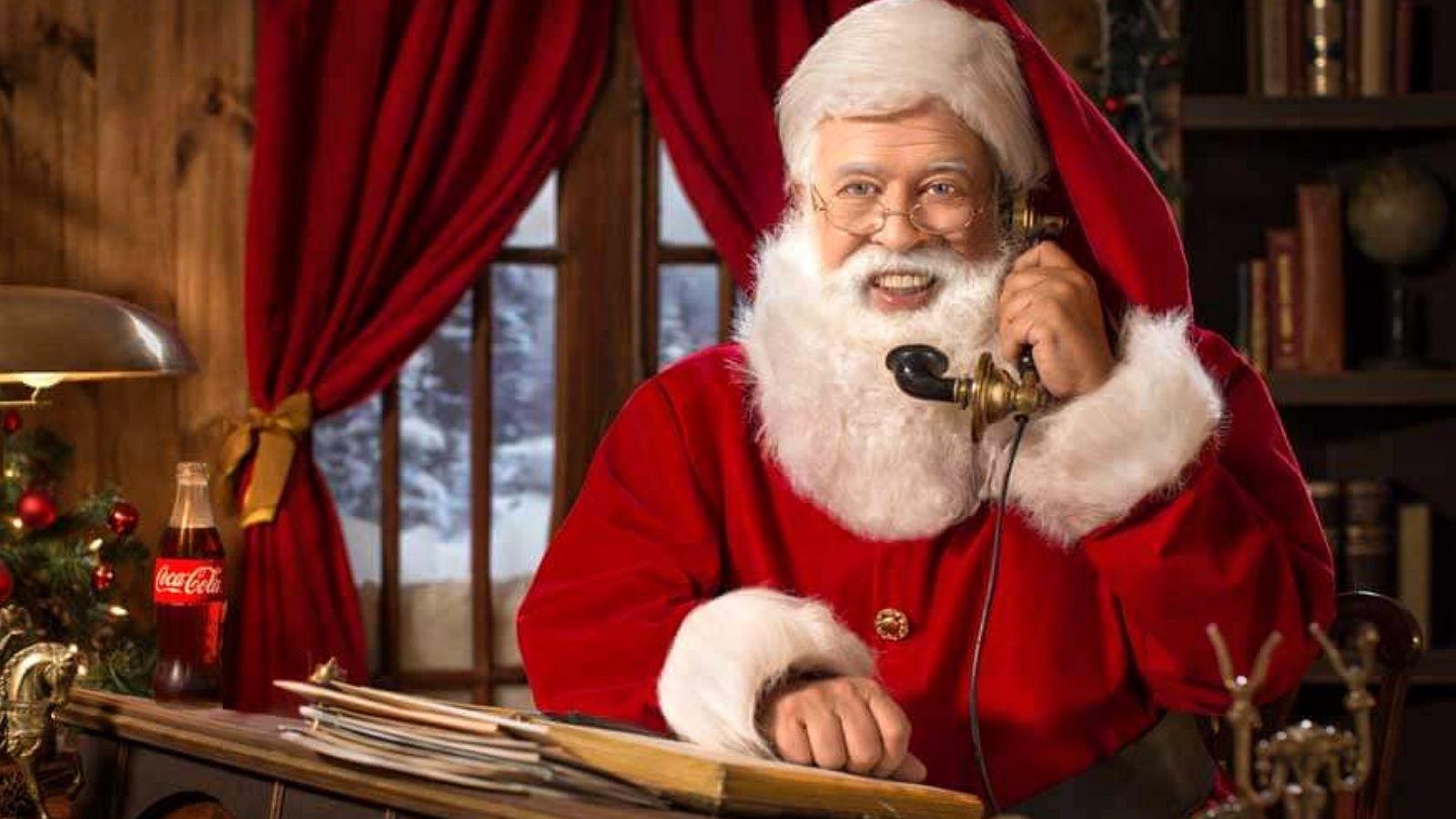 Como llamar a Papá Noel