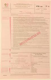Cómo completar el formulario 02 automotor