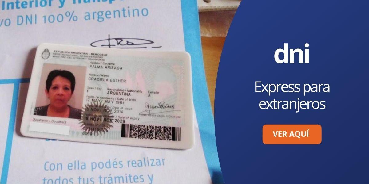 DNI express para extranjeros