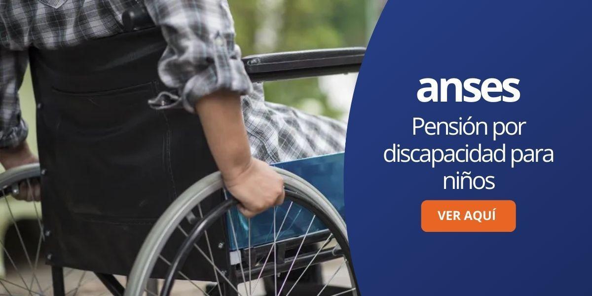 Pensión por discapacidad para niños