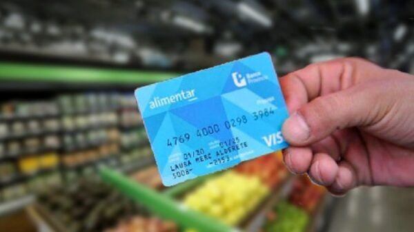 Tarjeta Alimentaria jubilados pensionados