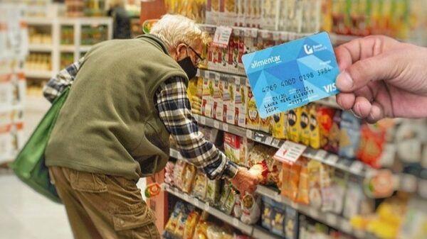 Tarjeta Alimentaria para jubilados pensionados