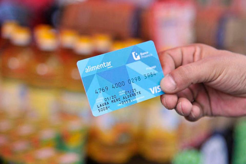 Tarjeta Alimentaria aumento 2021