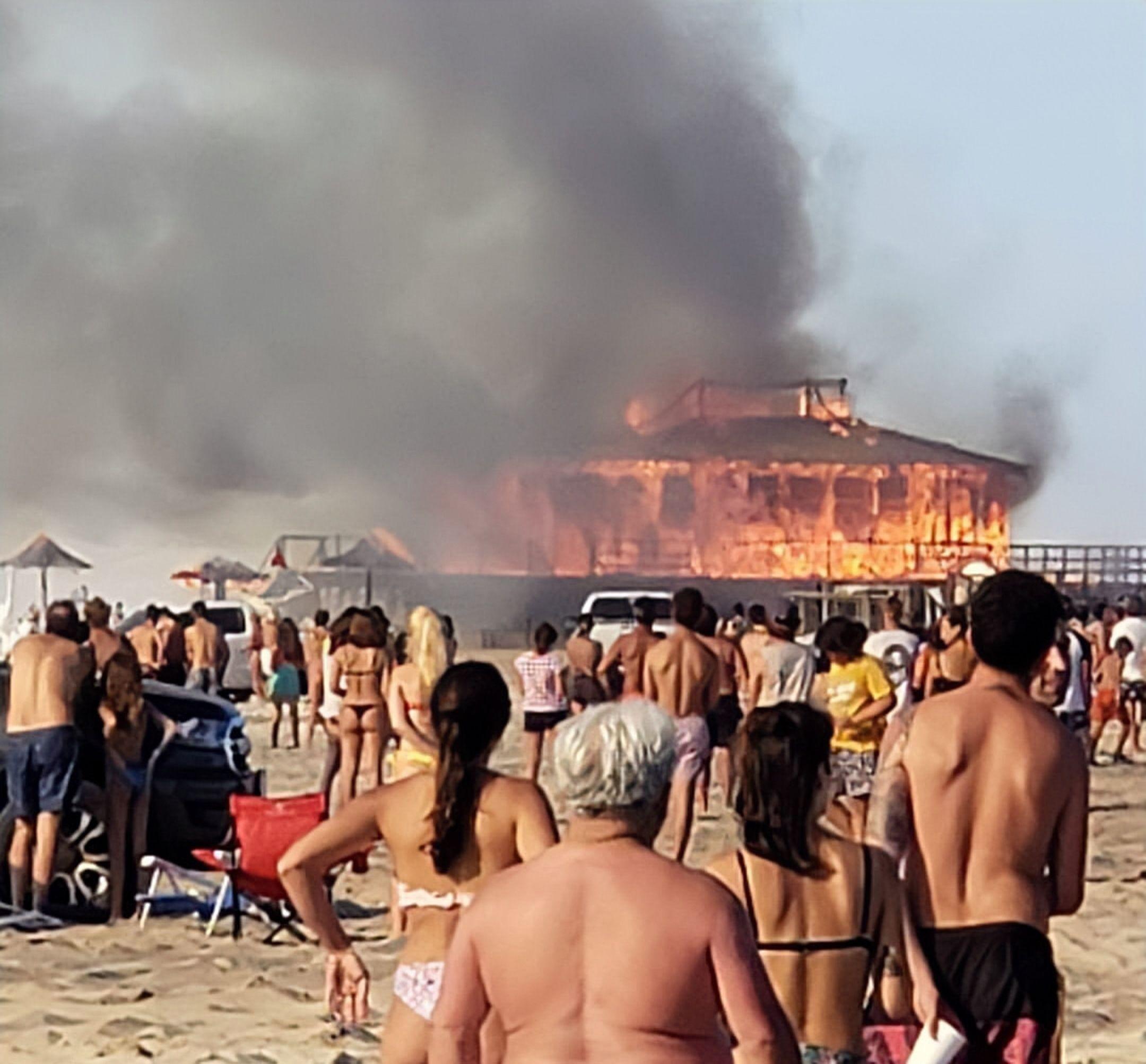 Incendio balnerio pinamar