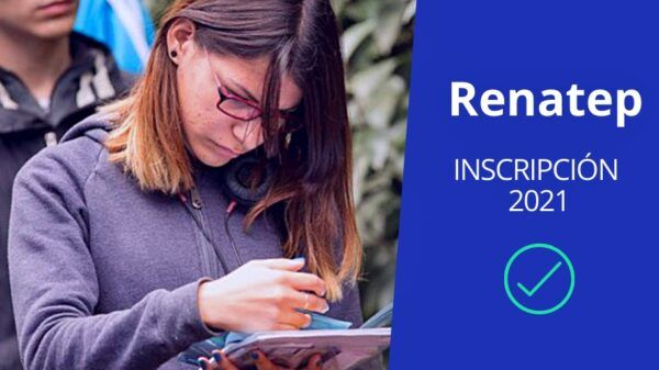 Renatep inscripción 2021