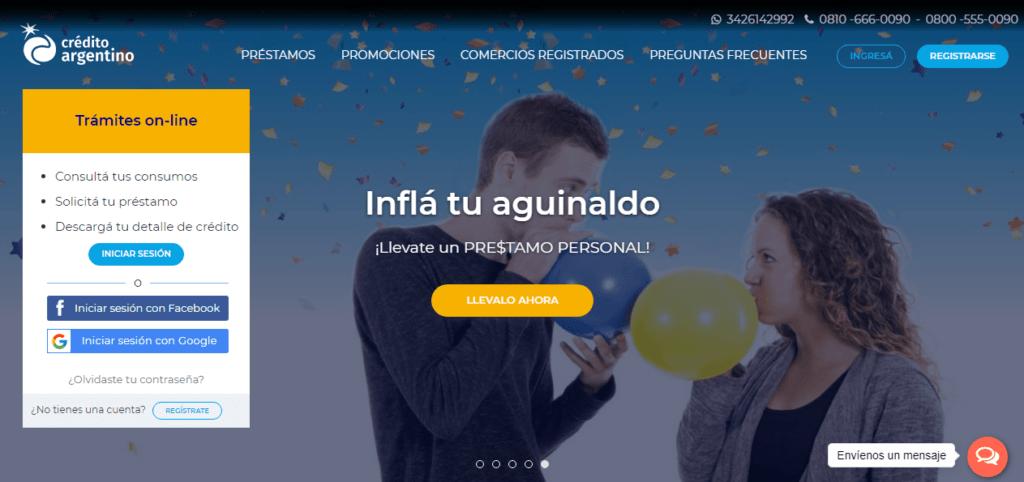 Cómo solicitar un préstamo de Crédito Argentino