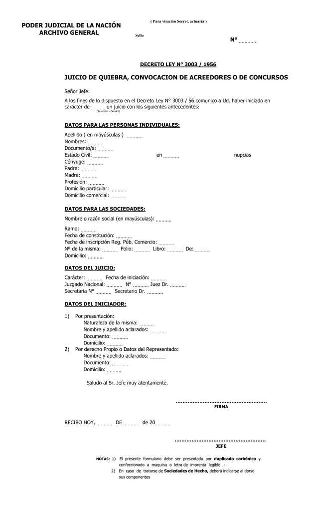 Modelo formulario 3003 sucesiones