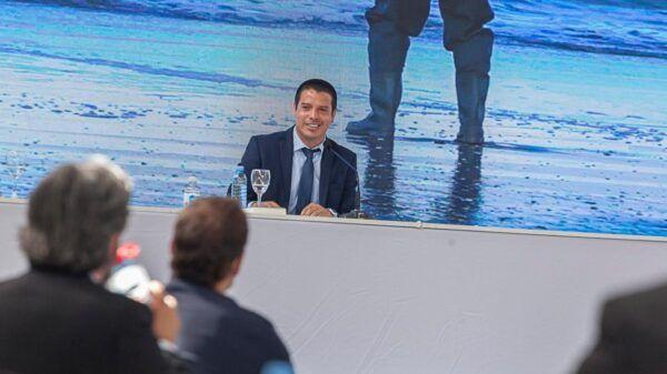 Cristian Cardozo intendente La Costa