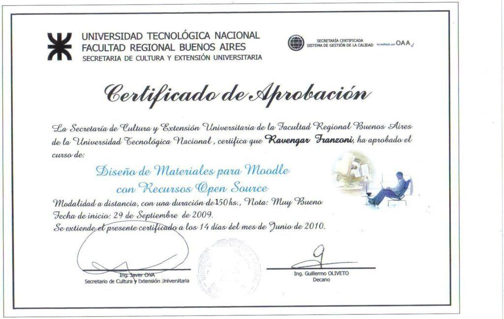 Qué es y para qué sirve el certificado UTN