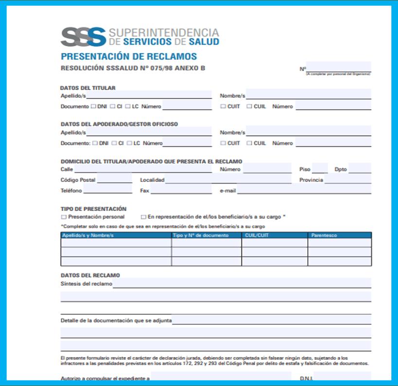 Qué es y para qué sirve el formulario B RES 075