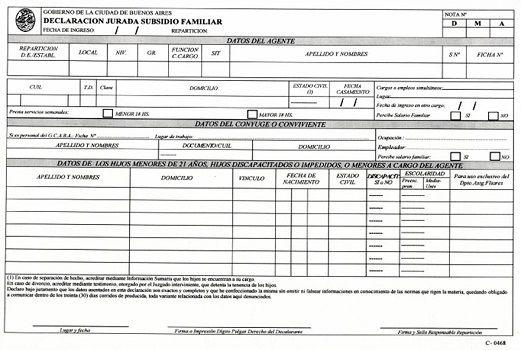 Qué es y para qué sirve el formulario C-0468