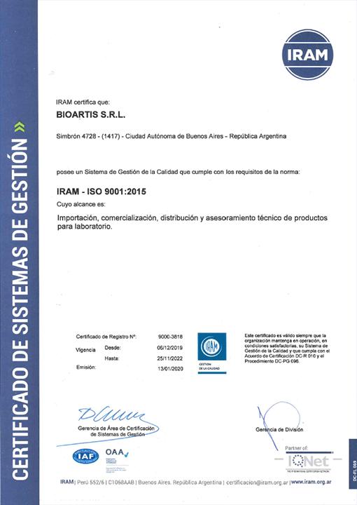 ¿Qué es y para qué sirve el certificado ISO 9001?