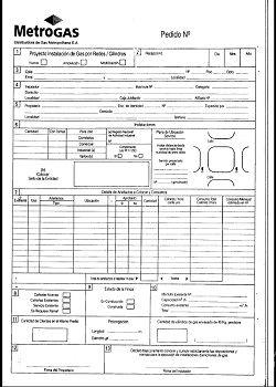 Qué es y para qué sirve el formulario 3.4 MetroGas