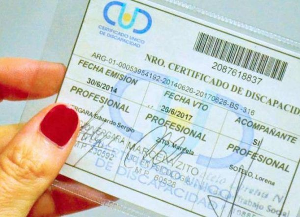 Requisitos para certificado CUD