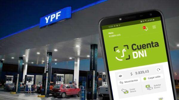 Cuenta DNI YPF descuentos