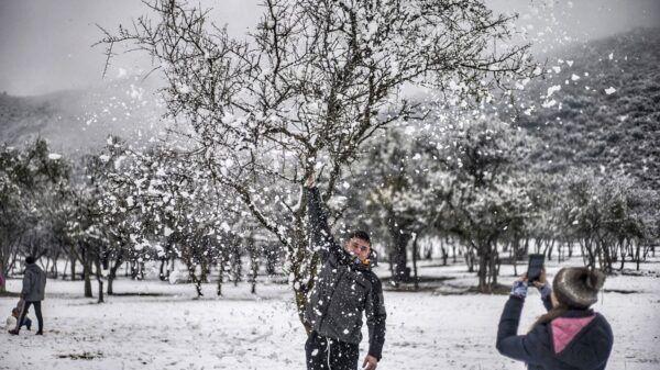 Nieve en cordoba cuando nieva Traslasierra