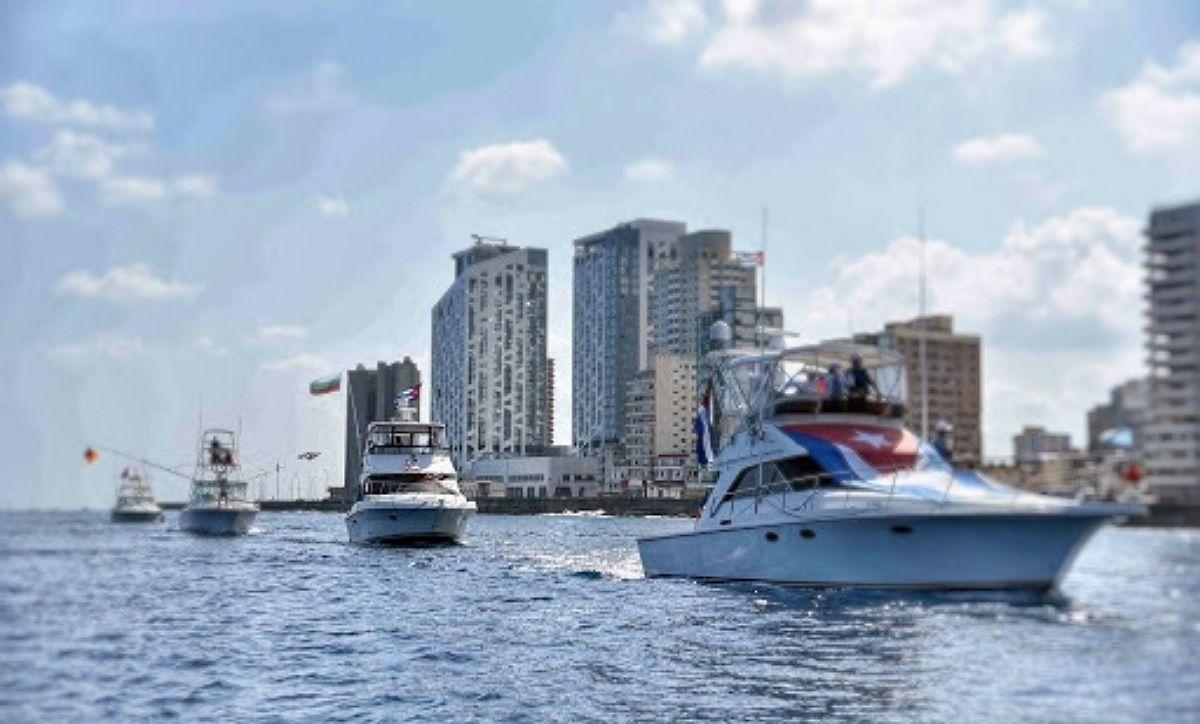 Cubanos barcos miami cuba