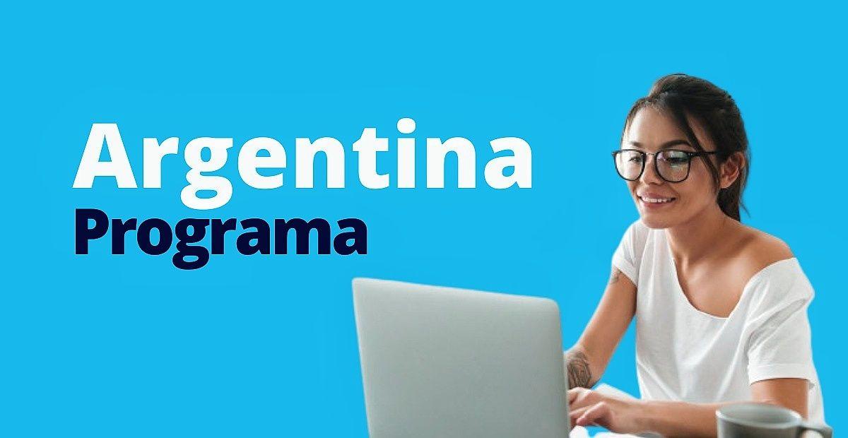 Argentina programa inscripción
