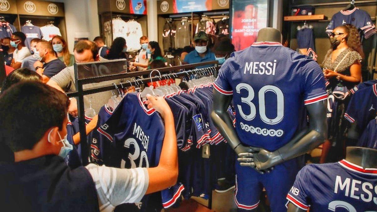 Cuanto vale camiseta Messi PSG